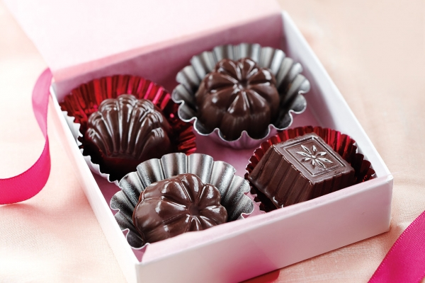 chocolates candies box