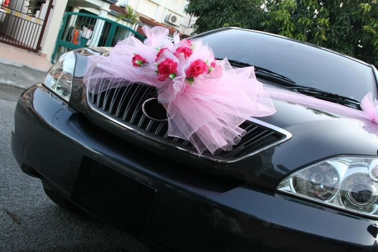 Tulle Car Bow