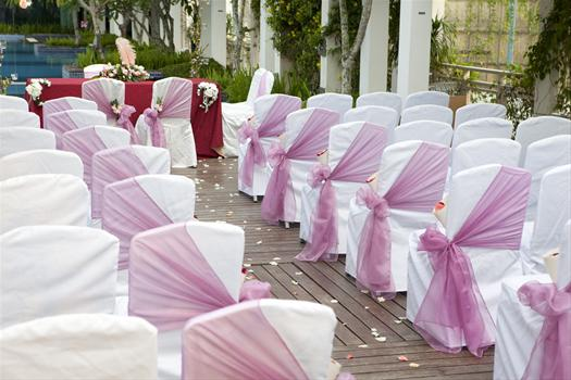 Tulle Chair Bows and Covers