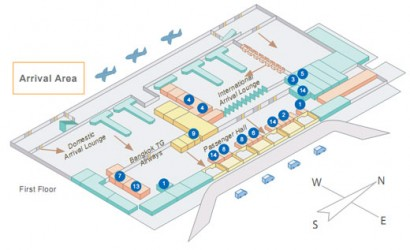 Airport Terminal Map Online