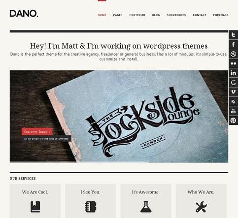 Dano  WordPress Theme