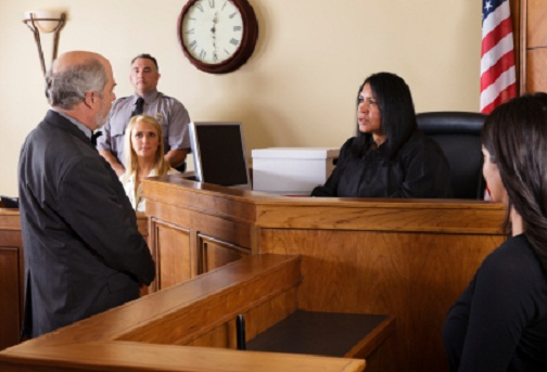 Speaking to the Judge